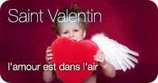 Saint Valentin : l'amour est dans l'air