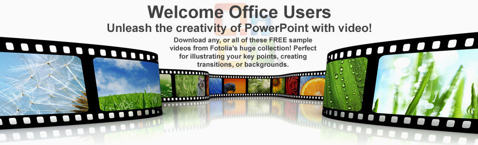 Welcome Microsoft users! Unleash the creativity of PowerPoint with video!