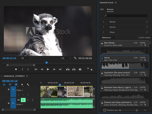 Adobe Premiere Pro integration